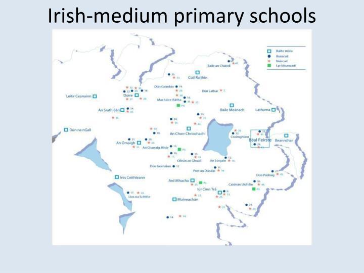 Irish-medium primary schools