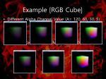 example rgb cube