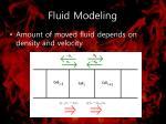 fluid modeling