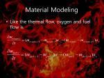 material modeling