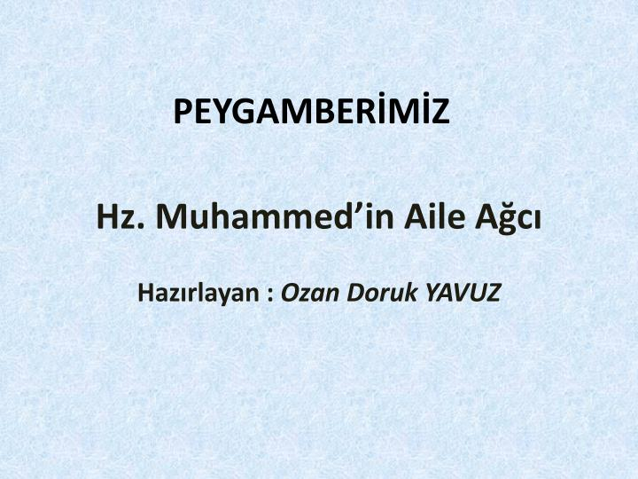 hz muhammed in aile a c n.