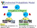 undirected probabilistic model