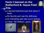 facts i learned on the rutherford b hayes field trip6