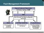 fault management framework
