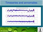 timeseries and annomalies