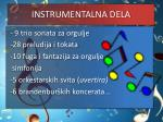 instrumentalna dela