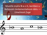 muzi ki motiv b a c h kori ten u bahovom testamentalnom delu umetnosti fuge