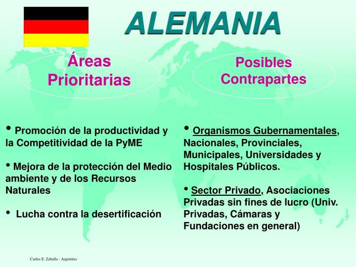 Áreas Prioritarias