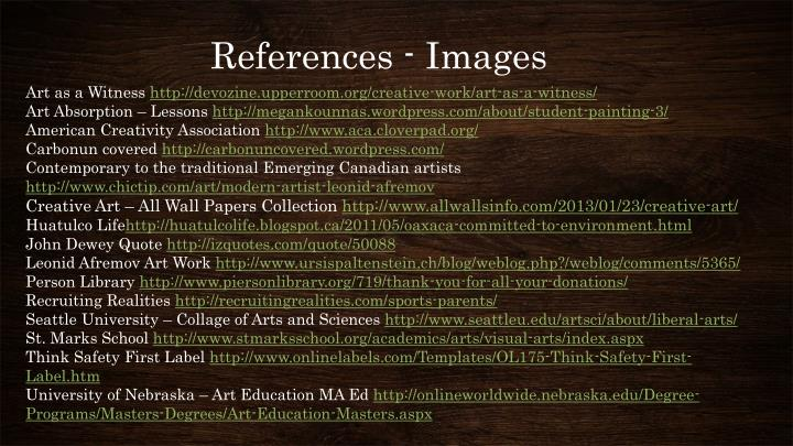 References - Images