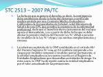 stc 2513 2007 pa tc10