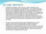 stc 5189 2005 pa tc9