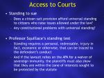 access to courts1