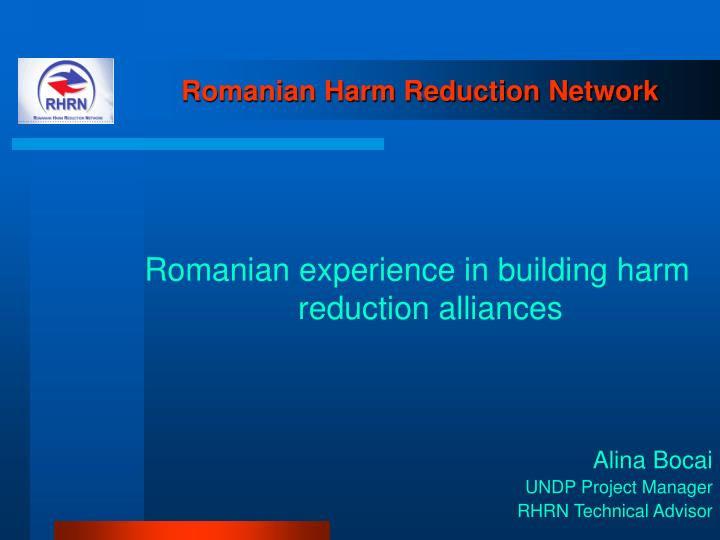 romanian harm reduction network n.