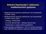 arterin hipertenzija ir n tumas medikamentinis gydymas1