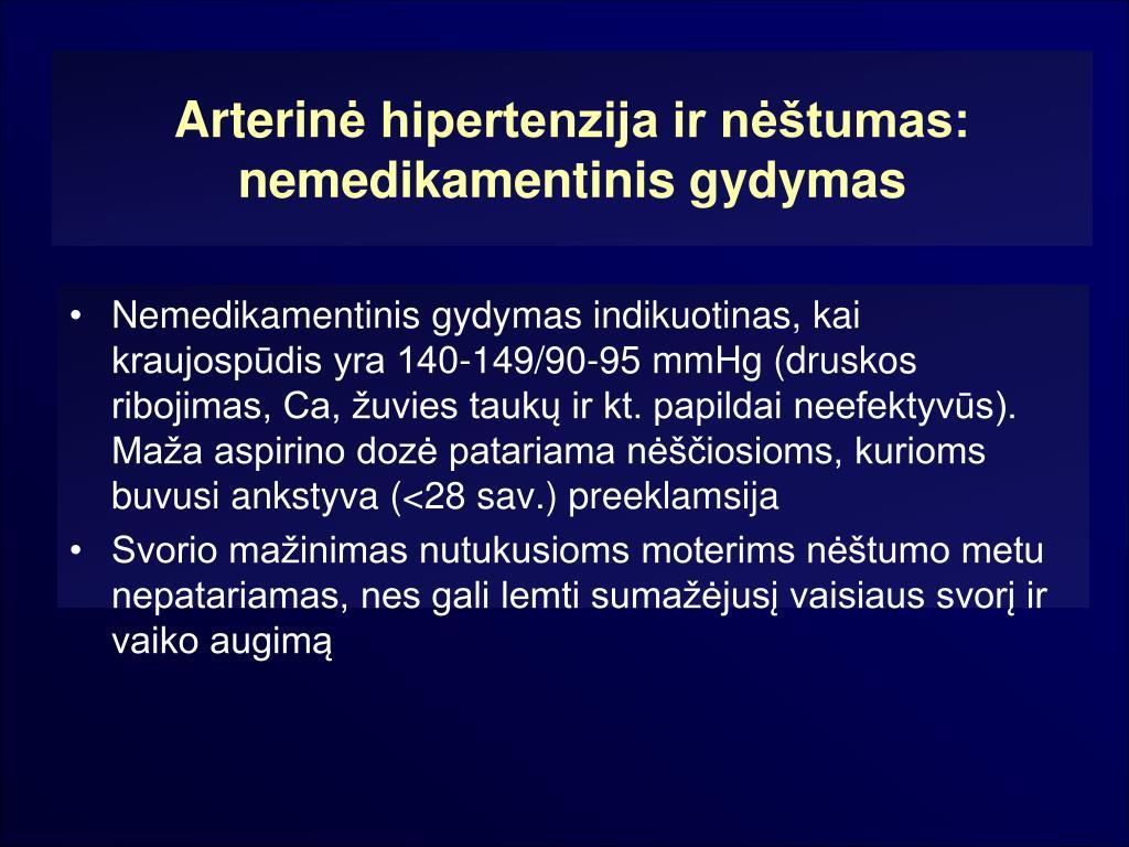vaikų hipertenzijos gydymo rekomendacijos)