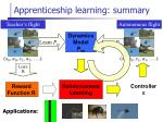 apprenticeship learning summary