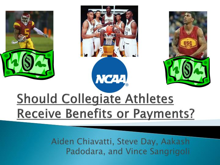 should college athletes have the right to The amateur status that was so important for young athletes to uphold when i was in college is not very important in this day and age professional athletes are now allowed to participate in the.