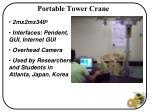 portable tower crane