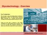 glycotechnology overview1