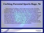 curbing parental sports rage 6