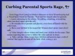 curbing parental sports rage 7