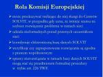 rola komisji europejskiej