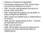 kosovo e guerra da iugosl via