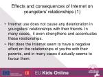 effects and consequences of internet on youngsters relationships 1