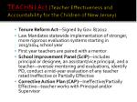 teachnj act teacher effectiveness and accountability for the children of new jersey