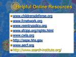 helpful online resources