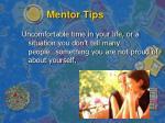 mentor tips1