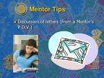 mentor tips2