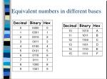 equivalent numbers in different bases