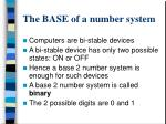 the base of a number system1