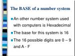 the base of a number system2