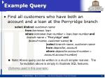example query1