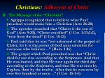 christians adherent of christ2