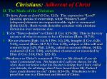 christians adherent of christ4