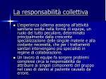 la responsabilit collettiva