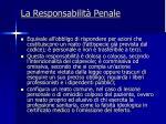 la responsabilit penale