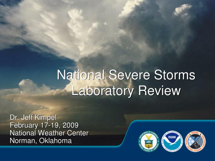 national severe storms laboratory review n.