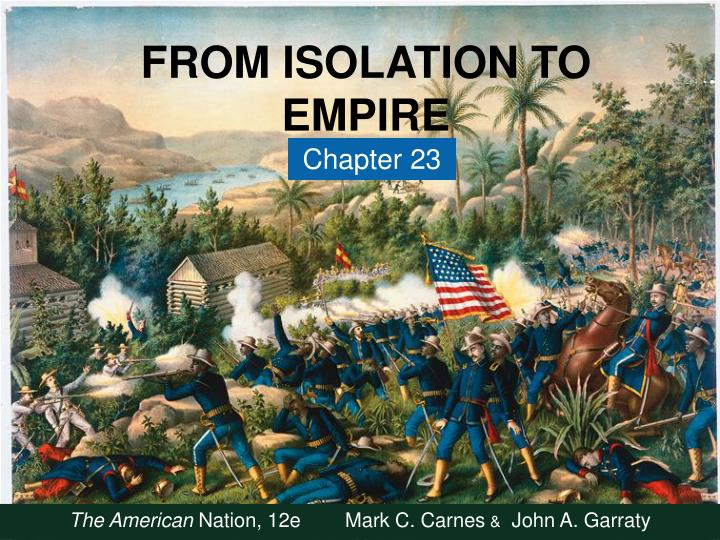 from isolation to empire n.