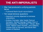 the anti imperialists