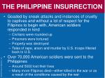 the philippine insurrection1