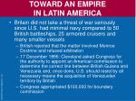 toward an empire in latin america2