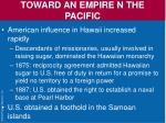 toward an empire n the pacific