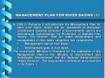 management plan for river basins 1