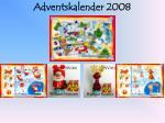 adventskalender 2008