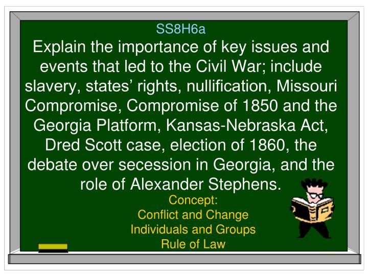 concept conflict and change individuals and groups rule of law n.