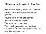 sherman s march to the sea1
